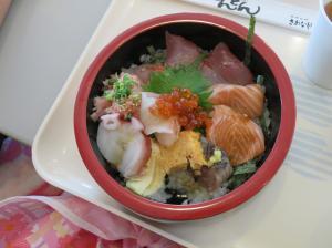 『海鮮丼 あじさい3』の画像